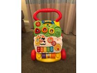 V Tech First Steps Baby Walker Great Condition
