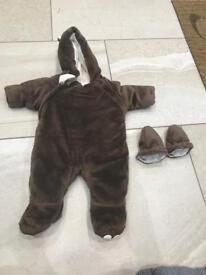 Baby warm sleepsuit