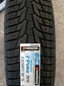 WINTER SNOW ICE TIRES ON SALE NOW **SAVE BIG** **FREE INSTALLAION** HANKOOK GENERAL KAPSEN TIRE 416-650-0025