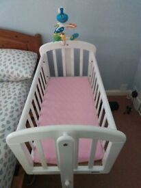 John Lewis Swinging Baby Crib / Bed