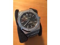 Audemars piguet 15400, not rolex. FREE SHIPPING INCLUDED IN PRICE
