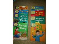 Biff & Chip, Songbird and Floppy's Phonics books. Excellent as new condition.