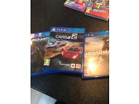 Ps4 game bundle - project cars 2 - uncharted lost legacy - ghost deacon wild lands
