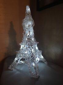Eiffel Tower Lamp / Light