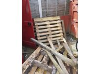 3 old wooden pallets for sale, FREE