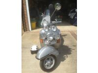 VESPA PX 125 LOVELY SCOOTER ILLNESS FORCES SALE GARAGE KEPT 2001