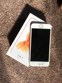 iPhone 6s on EE 64gb with box n charger