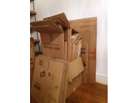 25 Heavy Duty Cardboard Packing Boxes for House Move