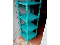 Tall and bright shelves