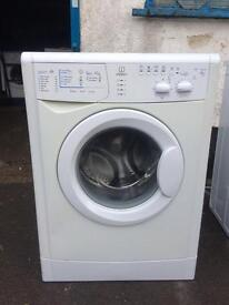 Indesit 6 kilo 1400 spin washing machine
