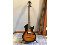 Epiphone Les Paul Special II with Upgaded Pick Ups and Tuners in Tobacco Burst