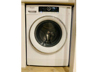 Whirlpool 9kg washing machine, 1400 rpm spin speed