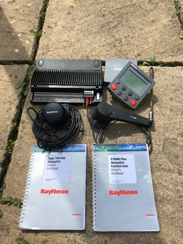 Raytheon/Raymarine ST6000+ Auto Pilot & Course Computer Complete | in  Bodmin, Cornwall | Gumtree