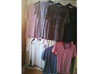 Mens XL bundle of Polo shirts/Tshirt/Shirt