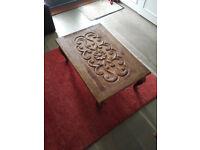 Hardwood Coffee Table For Sale