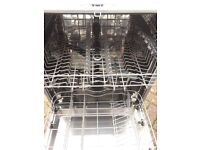 Zanussi fitted dishwasher