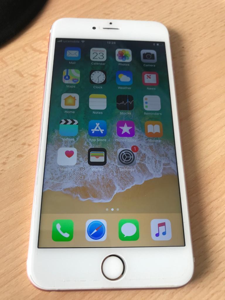 Apple Iphone 6s Plus 32gb Rose Gold Unlocked In Sheldon West