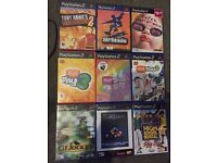 PS2 GAMES / 1 PC GAME / ALL DIFF PRICES