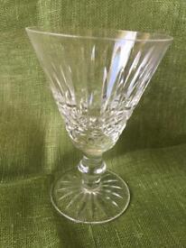 8 Vintage Crystal wine/cocktail goblets