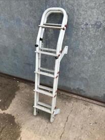 Fiamma ladder for motorhome 10 step