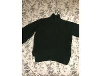 M&S Forest green knit jumper
