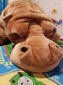 soft toy hippo 175cm long