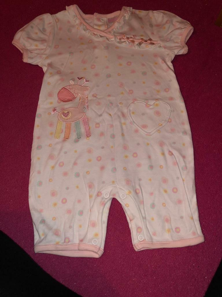 35ca76311 Baby girls all in one 9-12 months | in Sutton-in-Ashfield ...