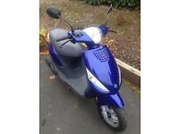 Piaggio zip sp 50 12 month mot 2 keys 6000 miles not aerox nrg Vespa moped scooter
