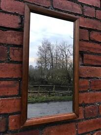 Antique Mahogany Framed Mirror