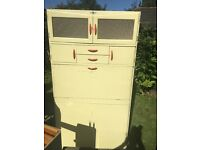 1950s Fortress kitchen cabinet