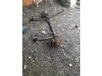 Ford transit connect back axel