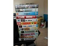 Mohammed ali Boxing video collection