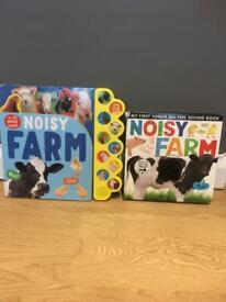 Noisy farm interactive books