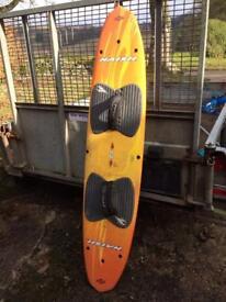 Naish kite surfing board