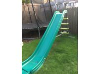 TP children's slide with extension and 4 step ladder.