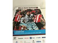 Signed programme