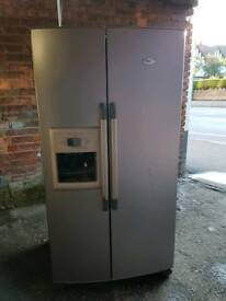 Fridge freezer fully working 8 months guarantee free delivery