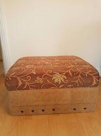 Very comfortable Storage Ottoman