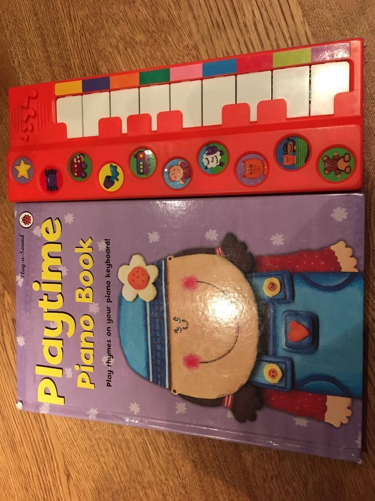 Ladybird Playtime piano book