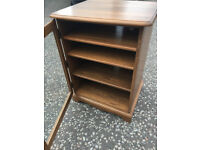 ERCOL Cabinet - free local delivery- GOLDEN DAWN A lovely shelved unit