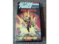 "CLASSIC ""ACTION FORCE"" THE MOVIE VHS PG"