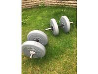 10kg York weights x2