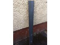 Flat metal lintel