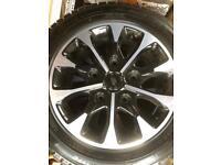 Transit custom alloy wheels