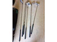 Bag of set of clubs junior