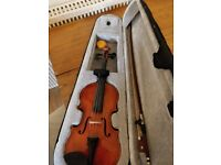 1/4 size violin suitable for small child learners