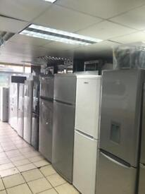 Fridge freezer 100% tested with Warranty neat n cleaned