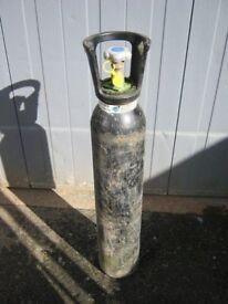 Full CO2 Mig Welding Gas Bottle 10 Litre Size