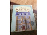 Usborne Slot together dolls house and book