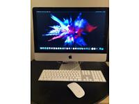 "IMAC ( LATE 2013 ) pristine condition 21.5"" 2.7ghz QUAD CORE original inner and outer box"